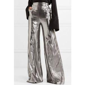 Wanda Nylon wide Leg Pants